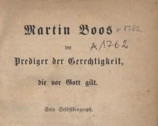 Martin Boos Prediger