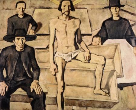 Darstellung des Auferstandenen von Albin Egger-Lienz, 19231924