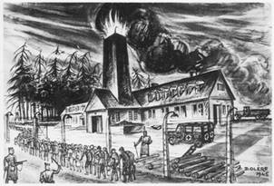 Krematorium-Auschwitz-Birkenau