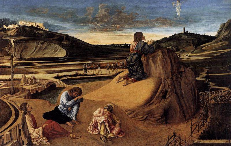 Christus am Ölberg von Giovanni Bellini (1465-70)