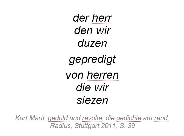 Marti - Der Herr