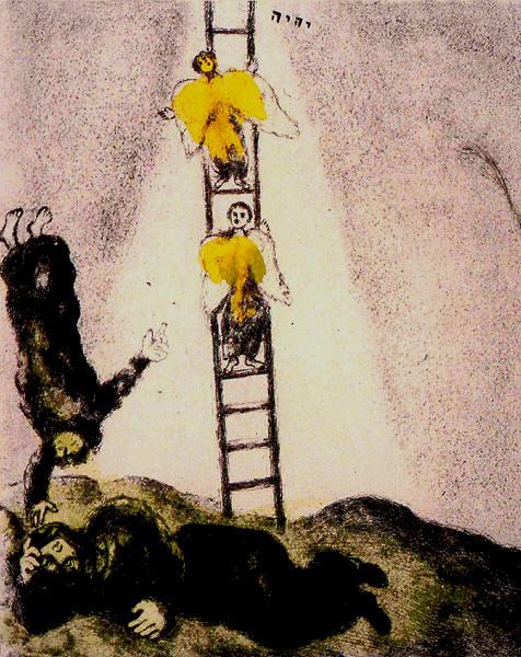 Chagall - Jakobs Traum 2