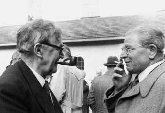 Hermann Diem im Gespräch mit Karl Barth