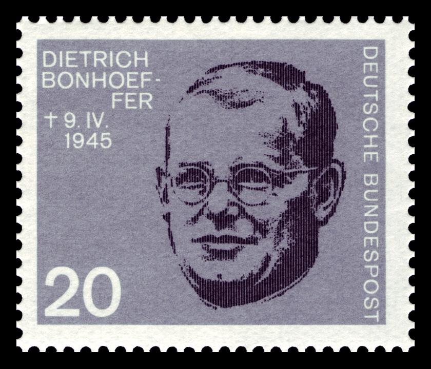 DBP_1964_433_Hitlerattentat_Dietrich_Bonhoeffer