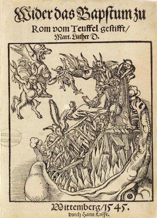 Luther - Wider das Bapstum