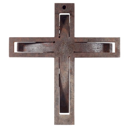 Aeternus-Kreuz rückseitig