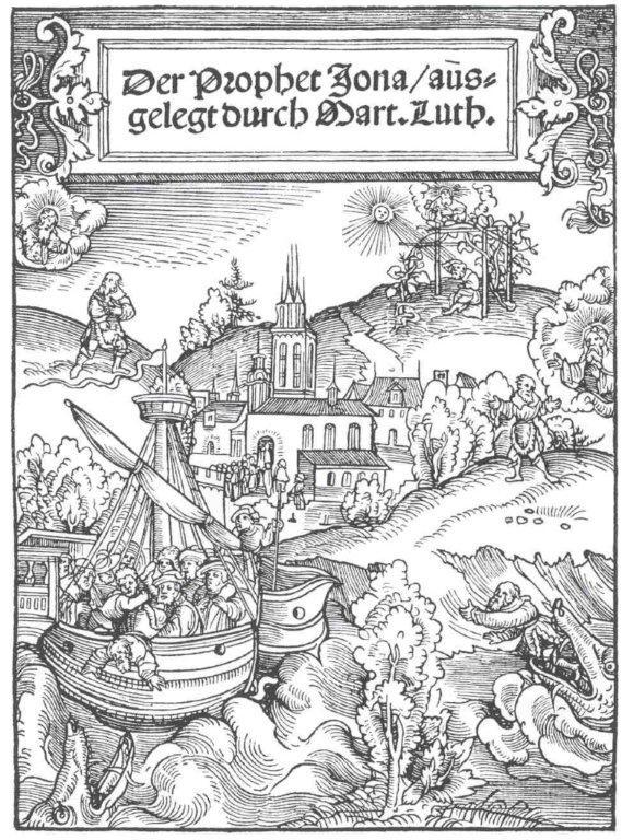 Cranach - Der Prophet Jona