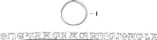 Inschrift TETRAGRMATON AGLA