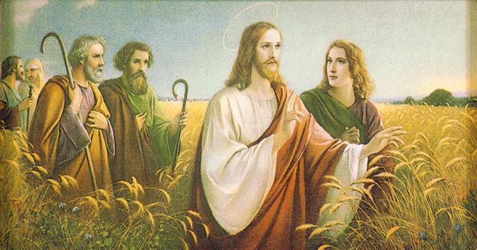 Josef_Untersberger_-_Christus_im_Ährenfeld