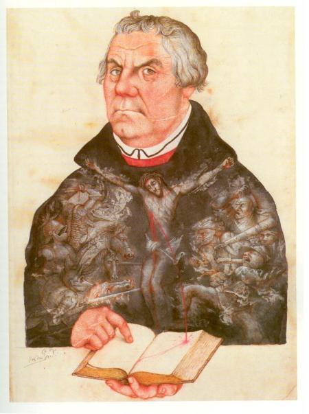 Michael Mathias Prechtl - Martin Luther, inwendig voller Figur
