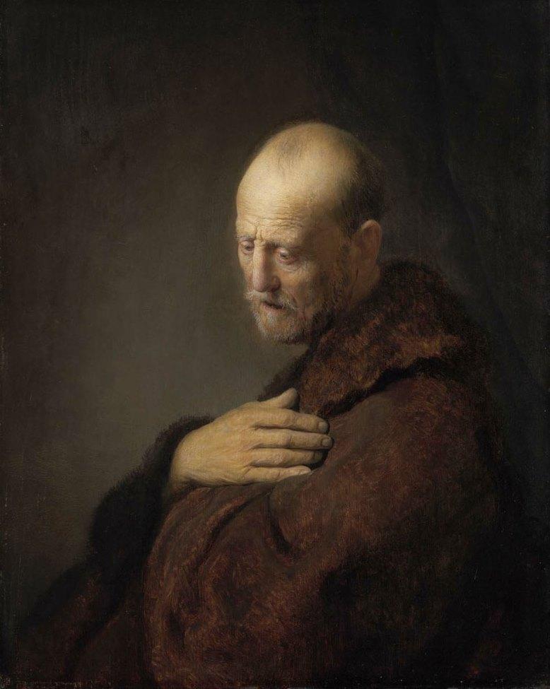 Rembrandt - Alter Mann im Gebet
