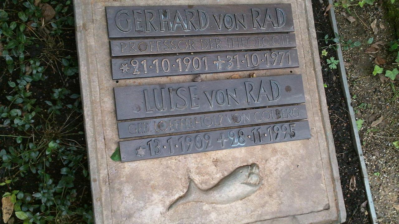 Grabstein Von Rad in Handschuhsheim