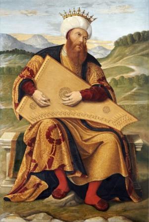 Girolamo da Santa Croce - König David  (1540-1550)