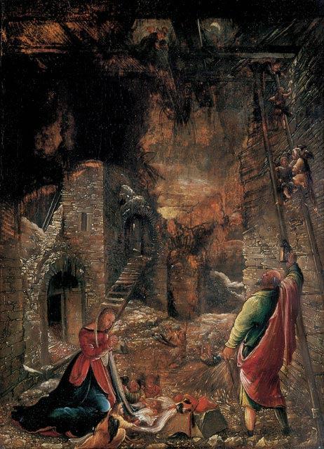 Albrecht Altdorfer, Geburt Christi (1507, Kunsthalle Bremen)