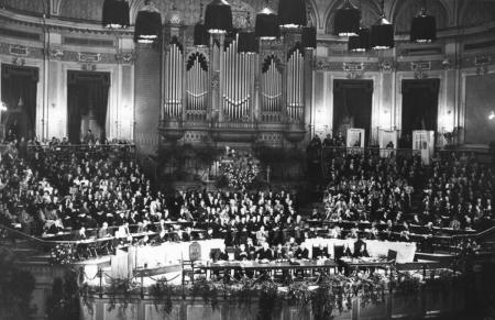 Gründungsversammlung des ÖRK in Amsterdam 1948