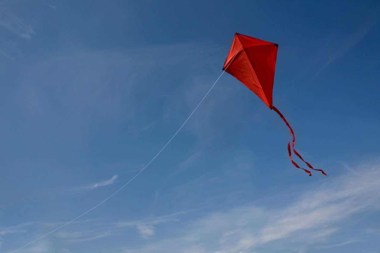 kite-flying-in-the-shape-of-a-cross