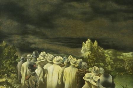 Richard Oelze - Die Erwartung 1935/36