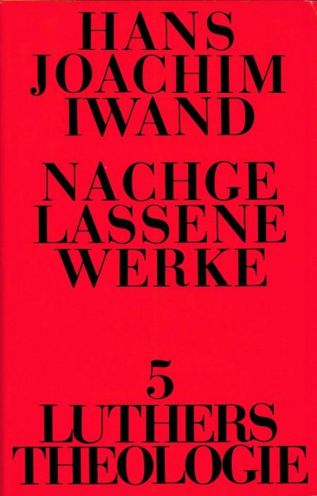 iwand-luthers-theologie