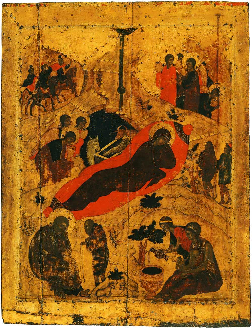 Ikone aus der Mariä-Verkündigungs-Kathedrale in Moskau, 15. Jahrhundert