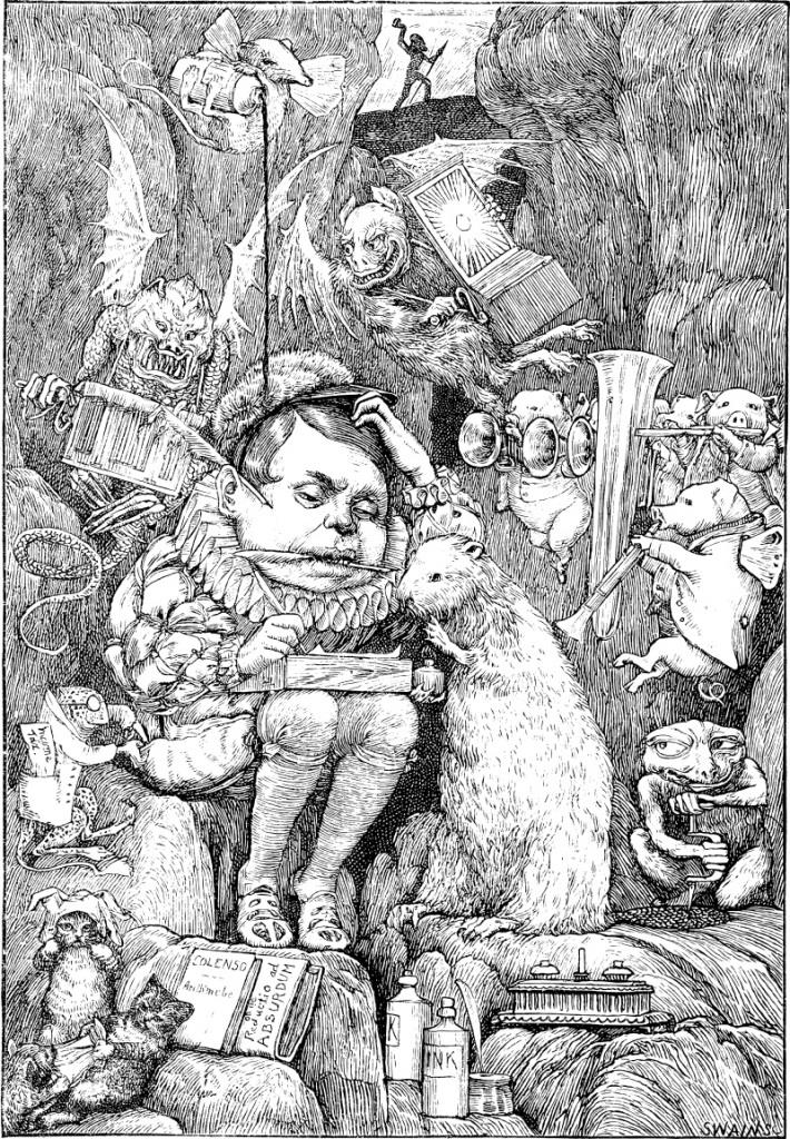 Henry Holiday - Illustration zu Lewis Carrolls The Hunting of the Snark (1876)
