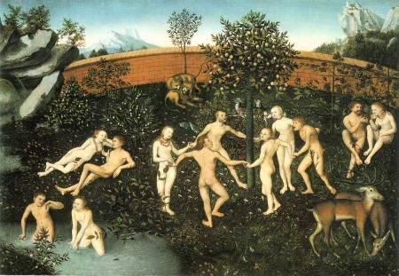 Lucas Cranach d.Ä., Das Goldene Zeitaler (1530)