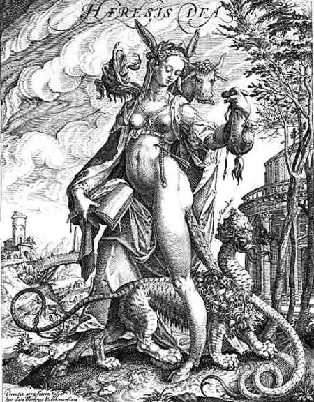 Antonius Eisenhoit - Die Göttin Häresie