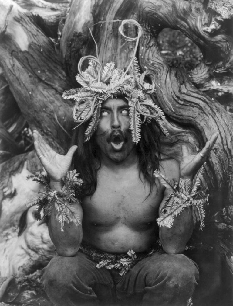 Edward S. Curtis - Der Schamane Hamatsa (1914)