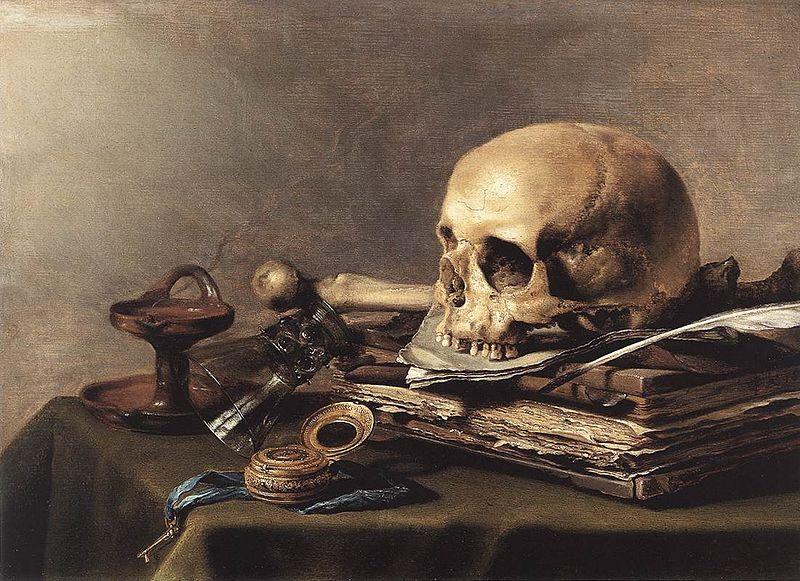 Pieter Claesz (1597-1660) - Vanitas