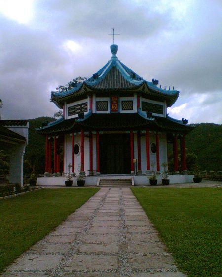 Die achteckige Kapelle