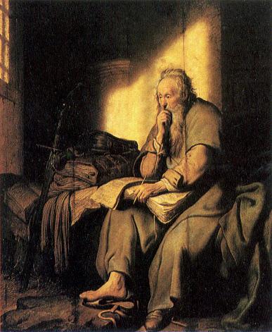 Rembrandt - Paulus im Gefängnis