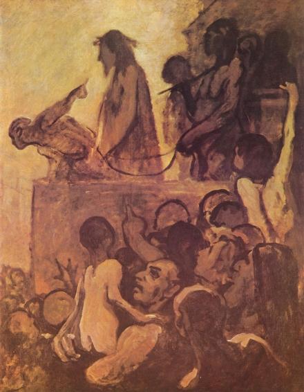 Daumier - Ecce homo