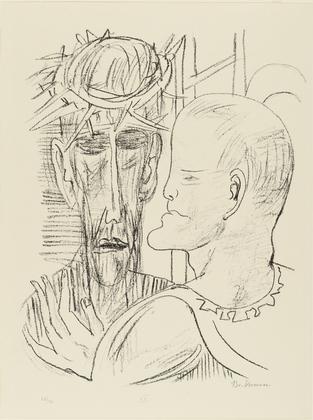 Beckmann - Christus und Pilatus