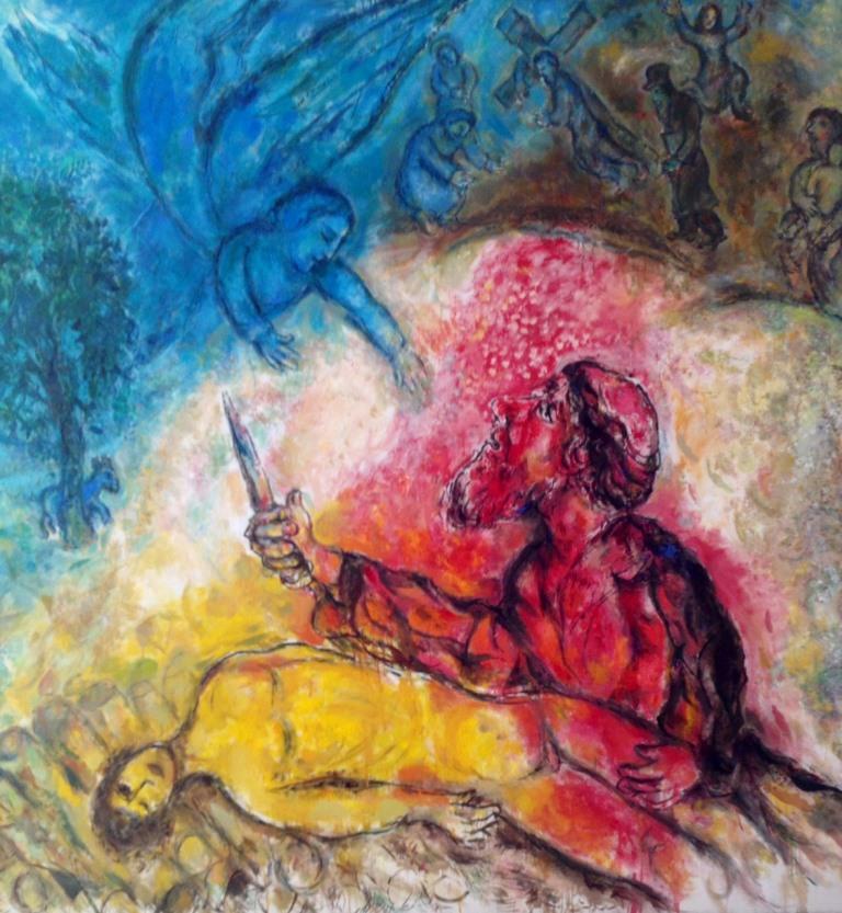 Die Opferung Isaaks (Marc Chagall)