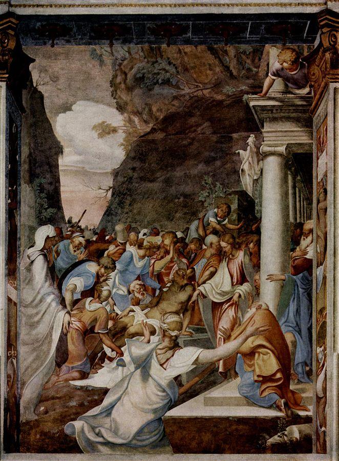 Camillo Boccaccino - The Raising of Lazarus