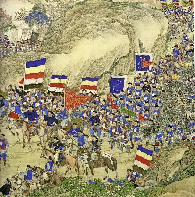Niederschlagung des Taiping-Aufstandes», circa 1860