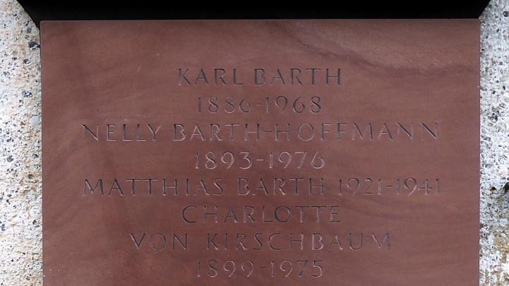 Karl_Barth Grabstein