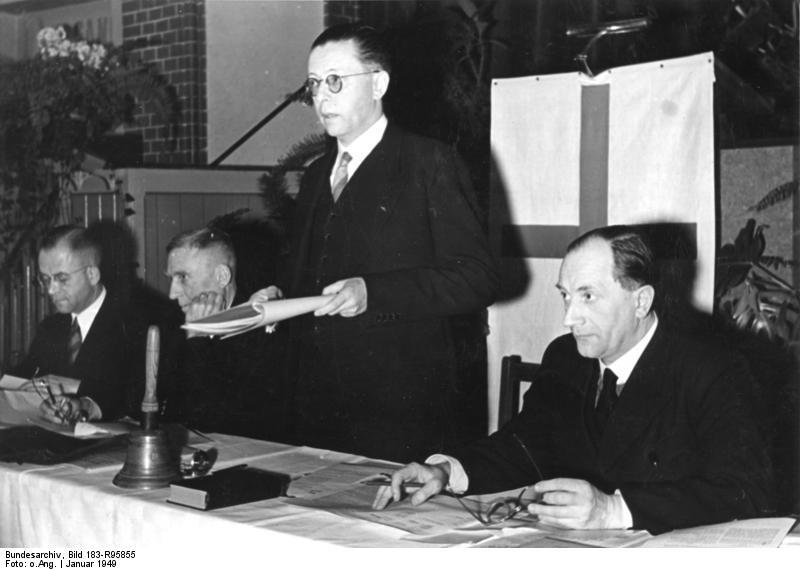 Bethel, Generalsynode, Gustav Heinemann spricht