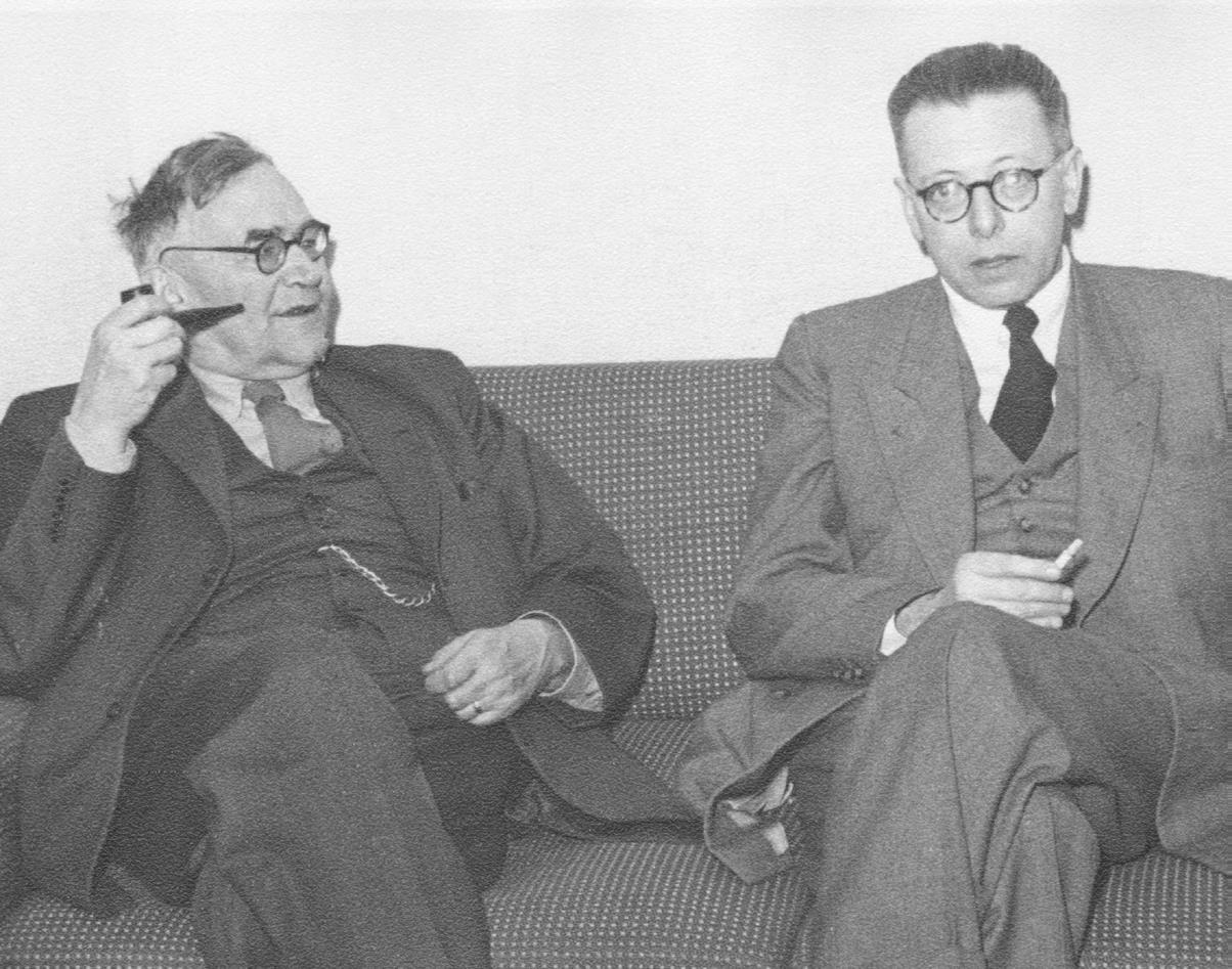 karl barth und gustav w. heinemann (1951)