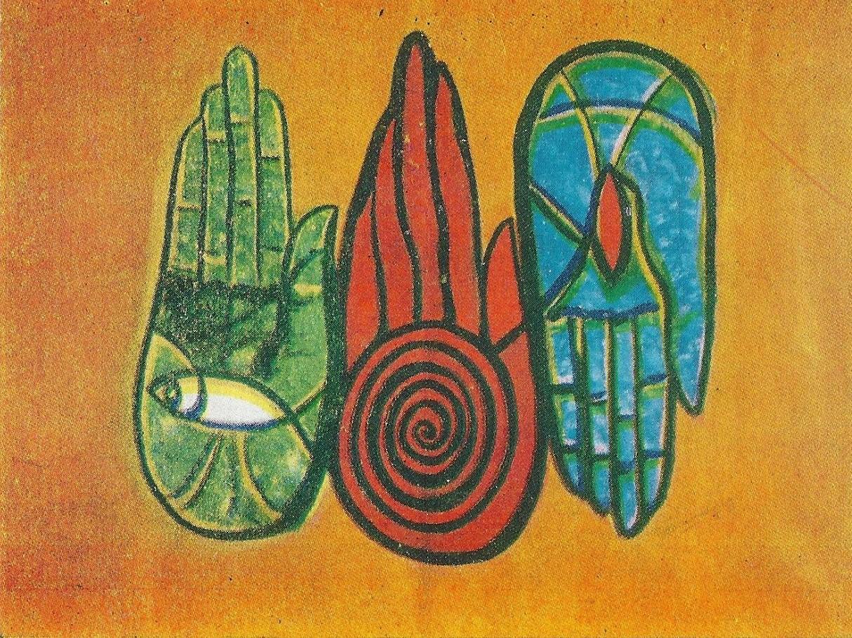 Thamburaj - Holy Trinity (Oil Painting)