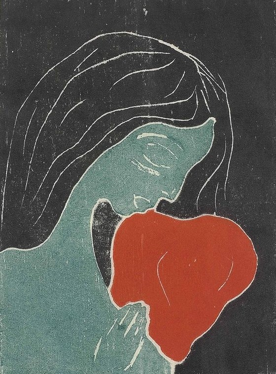 Edvard Munch - Das Herz