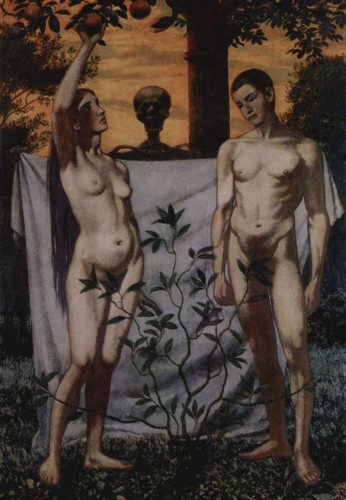 Hans Thoma - Adam und Eva