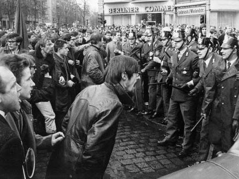 Studentenproteste 1968