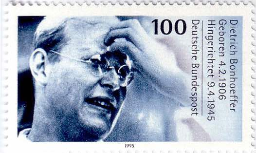 Dietrich-Bonhoeffer-Briefmarke