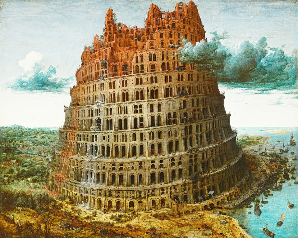 Bruegel - Der Turmbau zu Babel (Rotterdam)