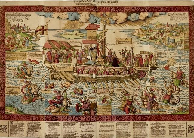 Hans Weigel - Das Christliche Schiff, mit seinen mancherley anstössen (Nürnberg 1570-77)