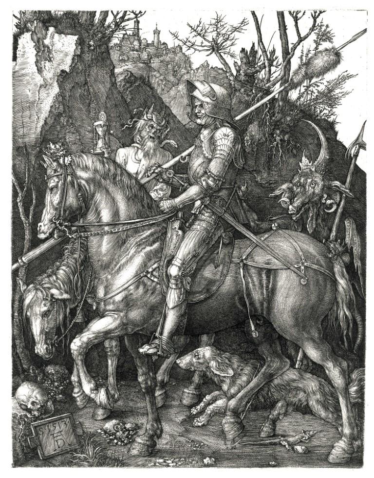 Duerer_-_Ritter,_Tod_und_Teufel (Mittel)