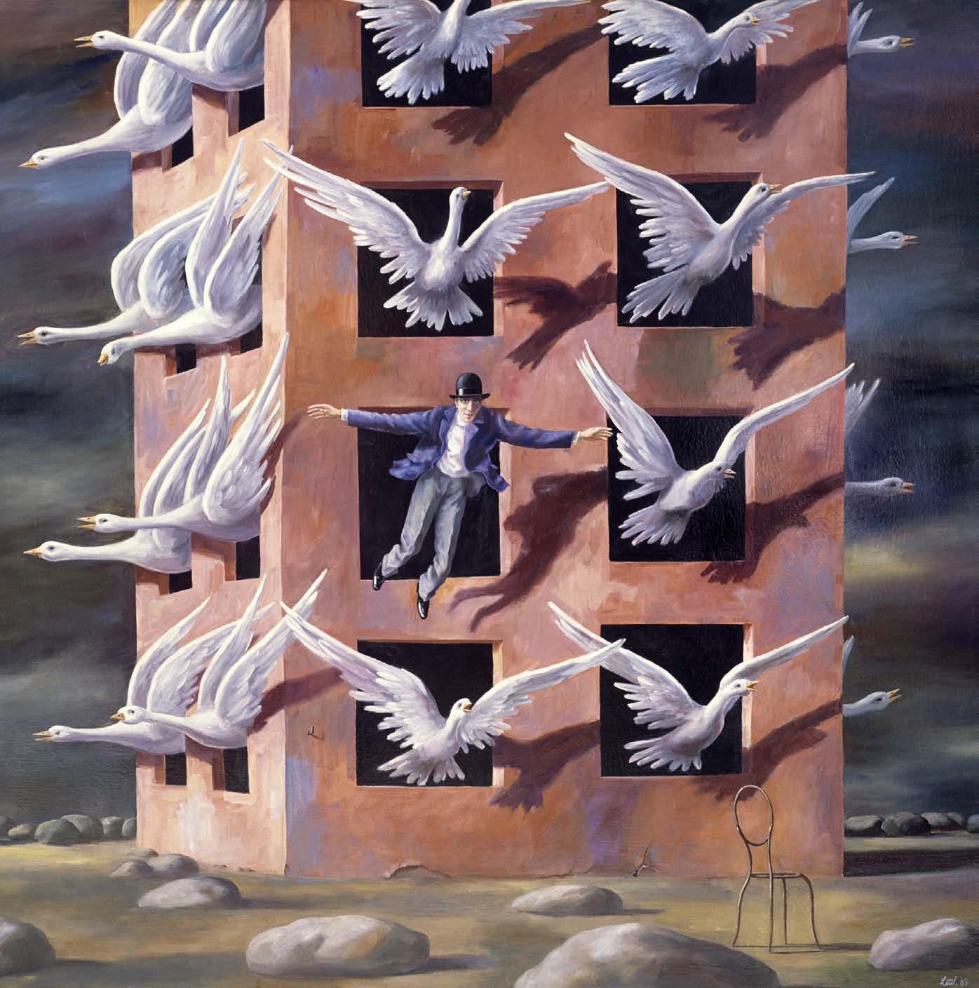 """Wolfgang Lettl, """"Die große Freiheit"""", 1985, www.lettl.de"""