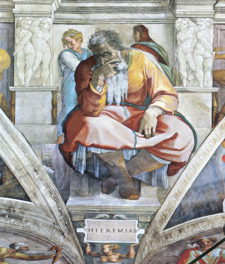 Michelangelo - Jeremia (Mittel)