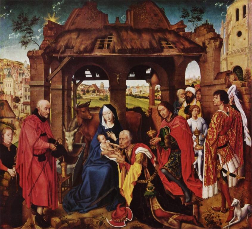 Rogier van der Weyden - Dreikönigsaltar (Mittel)