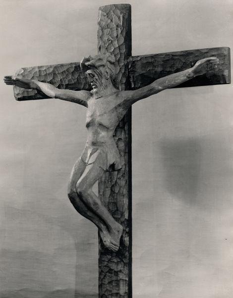 Wilhelm Groß - Der segnende Christus (Refektorium der Predigerkirche Erfurt, 1951)